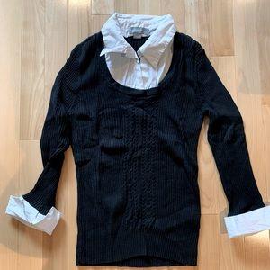 Beechers Brook sweater blouse 3/4 - Size XL